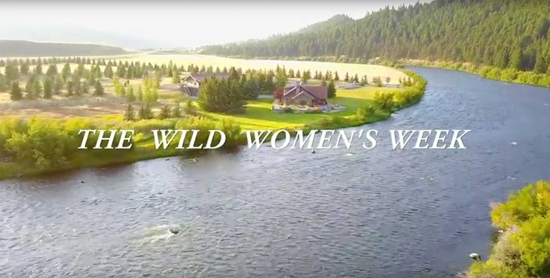 wild women adventure video